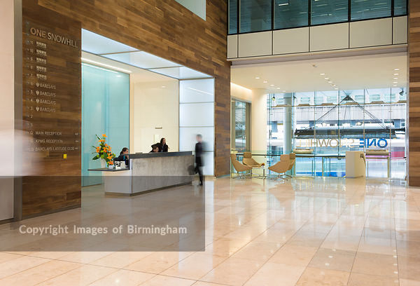 One Snowhill interiors. Copyright Craig Holmes/Metro Photographic