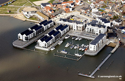 aerial photograph of Brightlingsea Essex England UK
