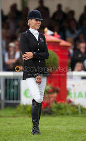 - prizegiving ceremony - Land Rover Burghley Horse Trials 2012.