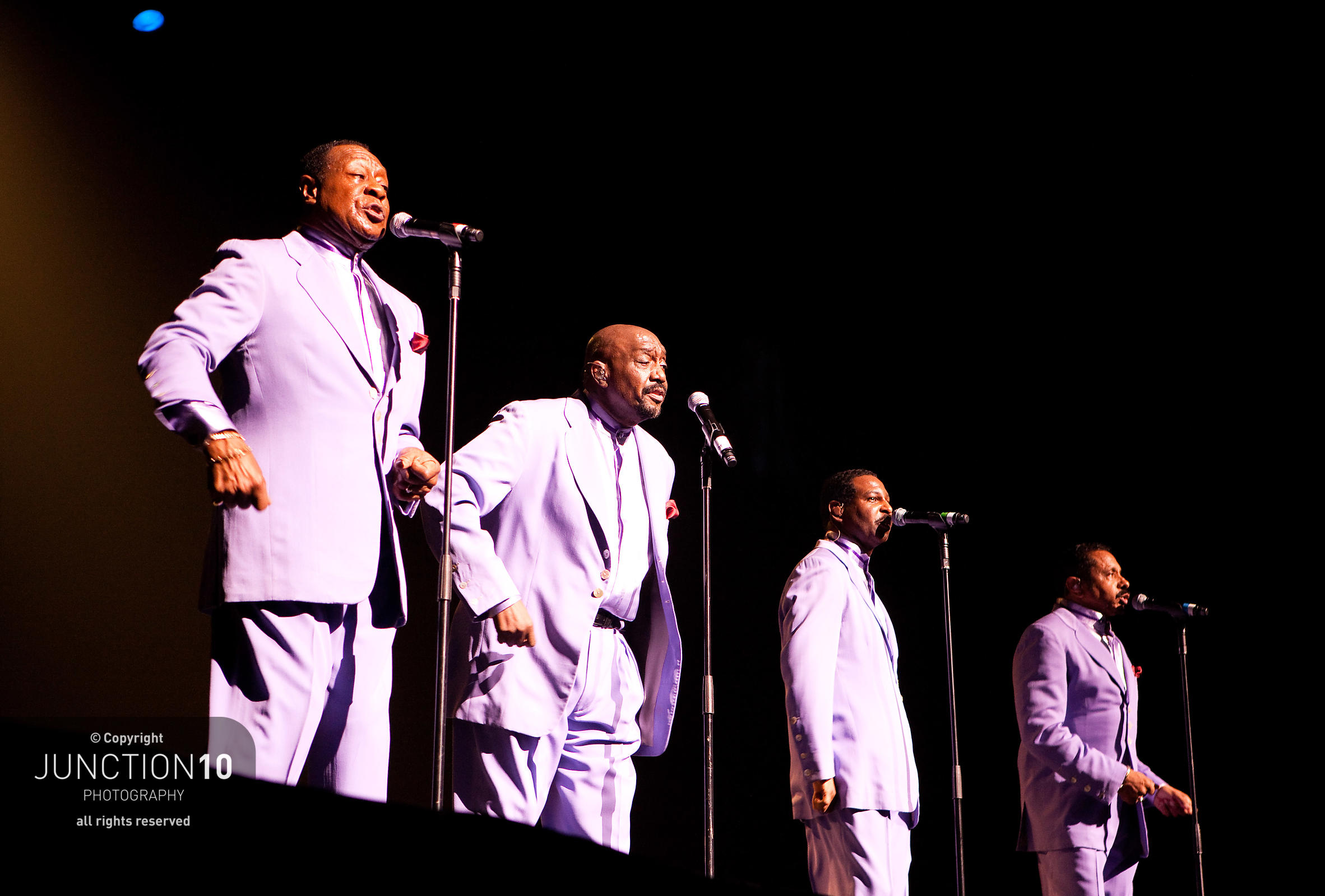 Four Tops and Temptations In concert