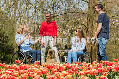 An afternoon at Keukenhof, Netherlands