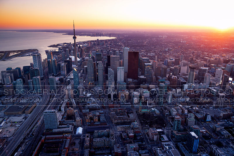 Downtown Toronto Sunset