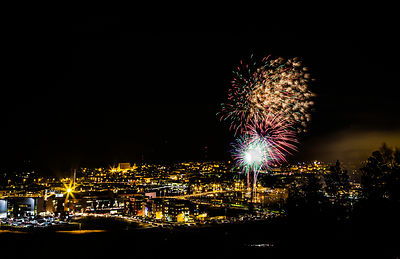 New Year´s Fireworks in Porvoo