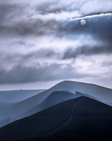 Great Ridge fantasy - shortlisted Landscape Photographer of the Year competition.