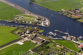 Warmond - Luchtfoto Van Schie Watersport