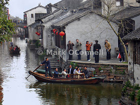 Zhouzhuong water village China 7