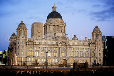 The Port of Liverpool Building at Pier Head Liverpool