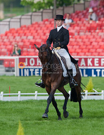 Laurence Hunt and Phoebus - Dressage