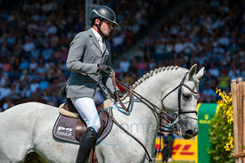 22/07/18, Aachen, Germany, Sport, Equestrian sport CHIO Aachen 2018 - Rolex Grand Prix,  Image shows Philipp WEISHAUPT (GER) ...