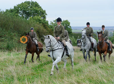 The Cottesmore Hunt at Betts Barn 27/9