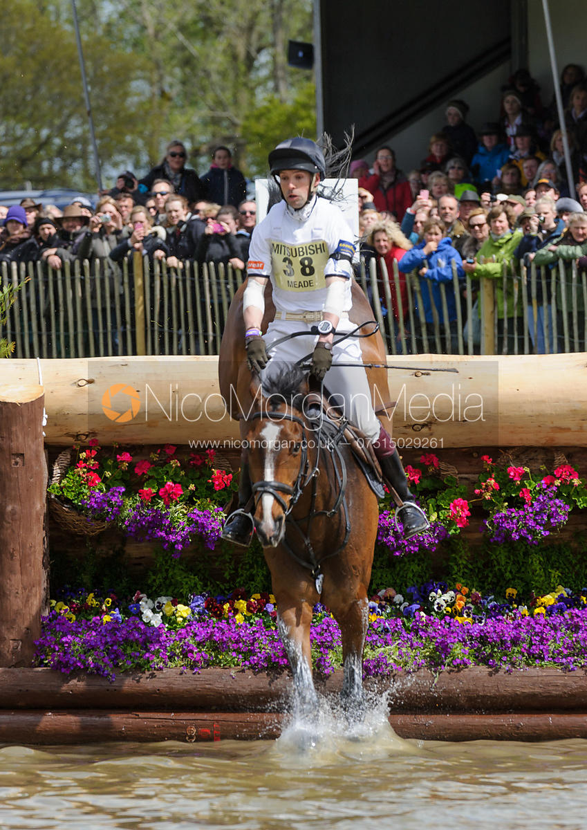 Harry Meade and WILD LONE - Cross Country phase, Mitsubishi Motors Badminton Horse Trials 2014