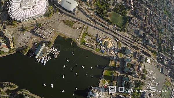 BC Place and False Creek Vancouver