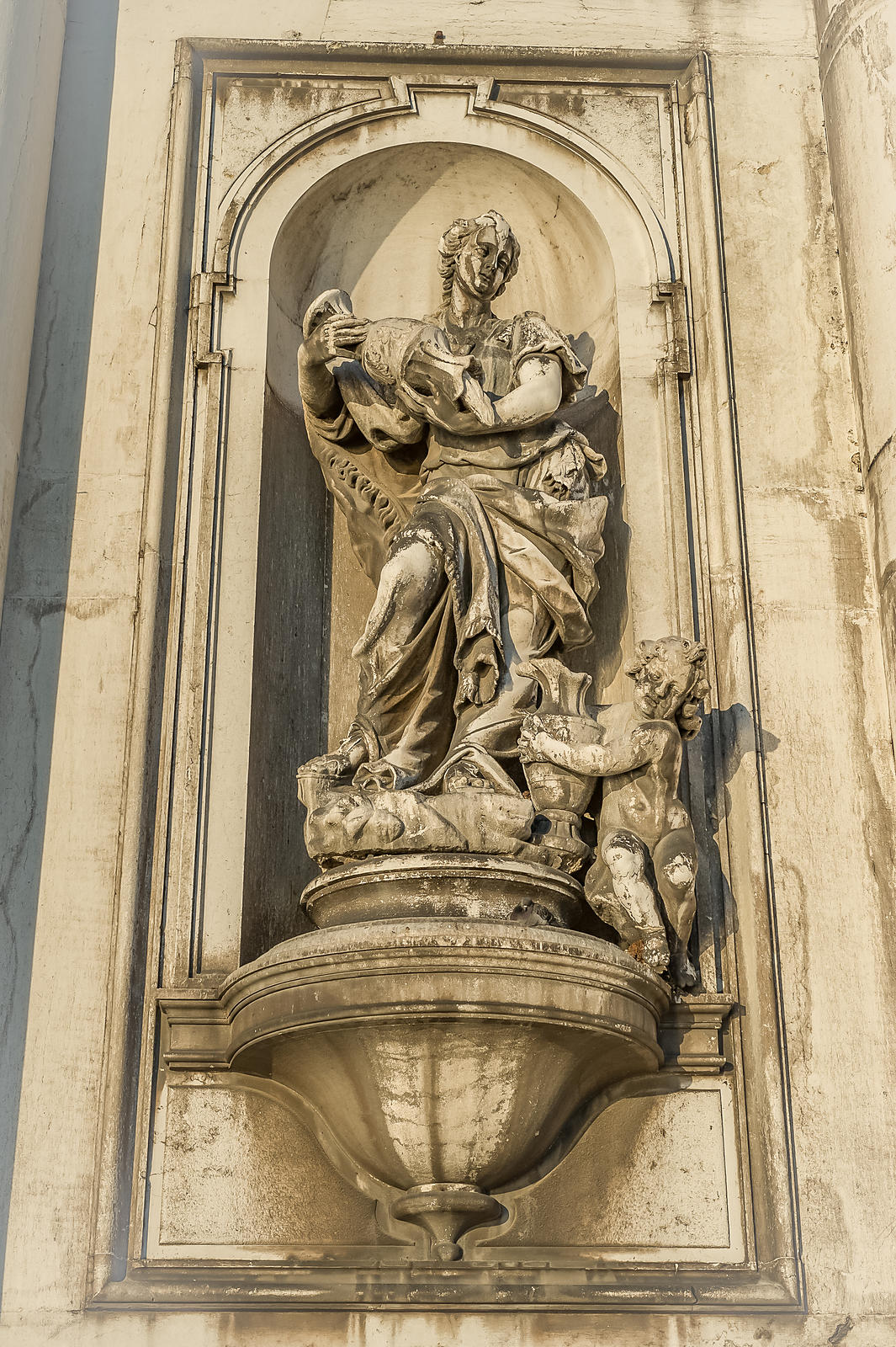 Church Detail, Venice