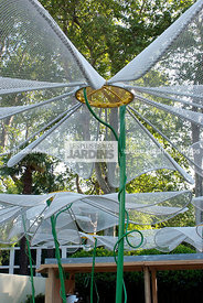 Contemporary garden, Digital, Garden furniture, Umbrella