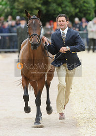 Marcio Carvalho Jorge and JOSEPHINE MCJ - First Horse Inspection, Mitsubishi Motors Badminton Horse Trials 2014