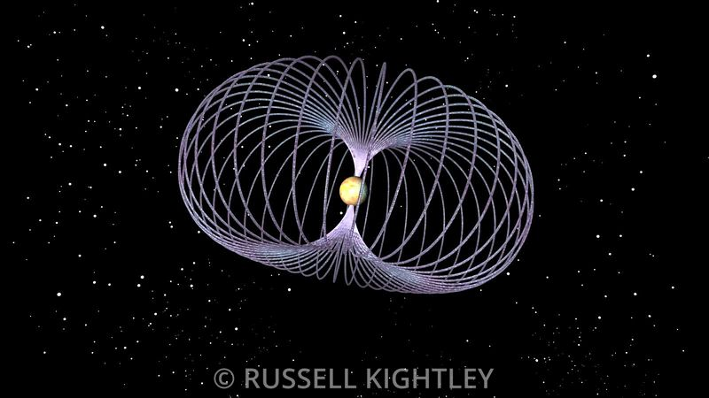 Magnetar with Magnetic Field Lines