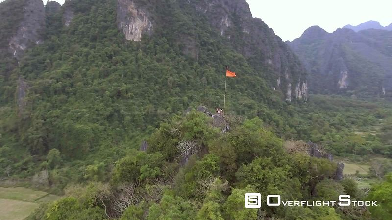 Near Phangern Mountain Village of Vang Vieng Laos