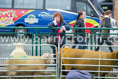 19th August, 2015.The 74th Virginia Agricultural Show, Virginia, County Cavan. Pictured is  Heather Leonard from Kinsgcourt, ...