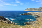 Seascape in Asinara National Park in the North West of the island of Sardinia