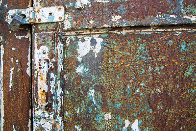 Rusted Mill Door