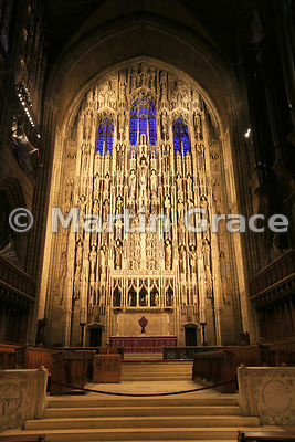 High Altar and Reredos of St Thomas Episcopal Church, 5th Avenue & 23rd Street, Manhattan, New York City, USA
