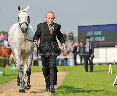 Craig Nicolai and Just Ironic - 2nd Inspection - Burghley 2010
