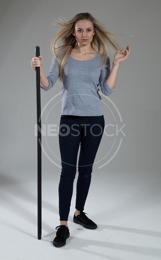 Billie Contemporary Casual Stock Photography