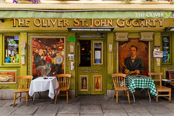 Facade of the Oliver St John Gogarty Pub