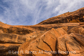 Sandstone Landscape Features in Road Canyon in Bears Ears National Monument
