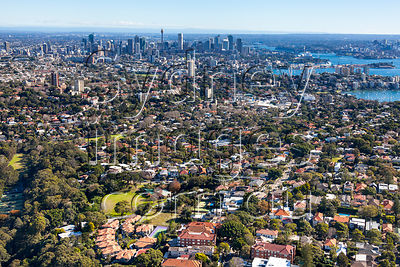Bellevue Hill Aerial Photography