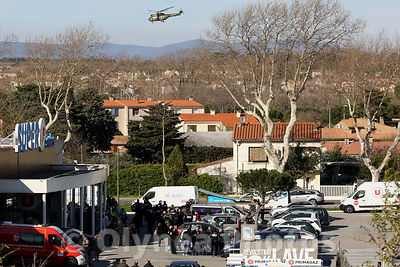 Terrorist attack in Trèbes France