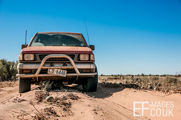 The Road To The Simpson Desert Is Paved With... Melons!