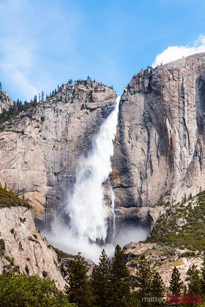 Upper Yosemite fall, Yosemite National Park, USA