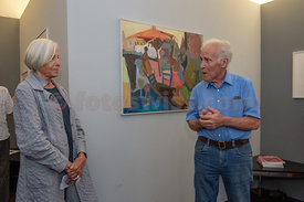 Vernissage Leni Heitz in Galerie Curtins