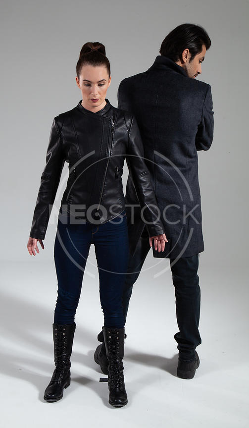 Action Thriller Duo Stock Photography