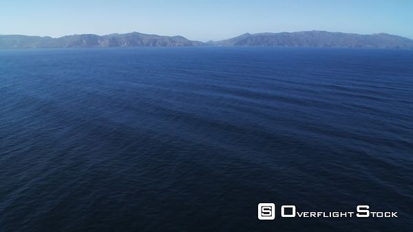 Over Open Water Toward Isthmus Cove on Santa Catalina Island.