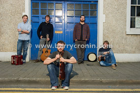 12th September, 2014.The band Porterhead from left to right: Liam King, Joe Junker, Lorcan Brady, Paul McClure and James Fraw...