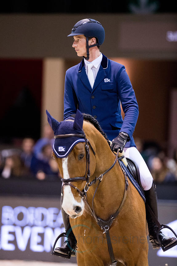 Bordeaux, France, 2.2.2018, Sport, Reitsport, Jumping International de Bordeaux - . Bild zeigt Daniel DEUSSER (GER) riding Ca...