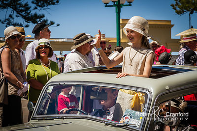 Art Deco Saturday 2012 - Vintage Car Parade.  License Plate =1939 WA