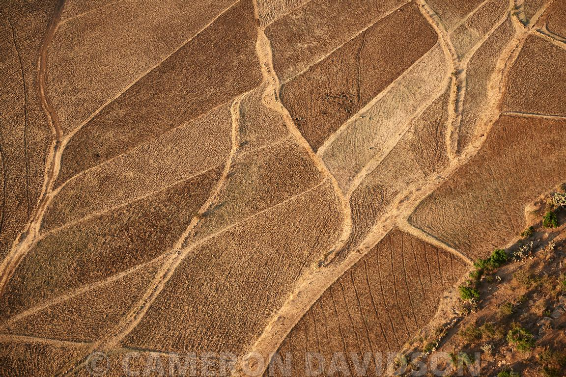 Aerial Ethiopia, Agricultural Fields