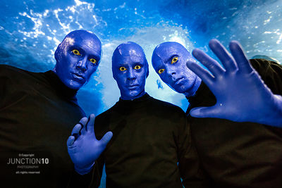 Blue Man Group, Birmingham, United Kingdom