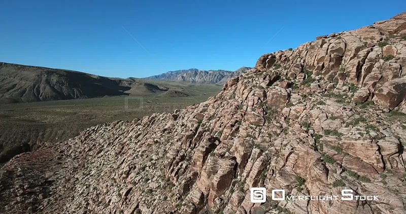 Desert Mountains of Red Rocks Canyon National Recreation Area Nevada USA