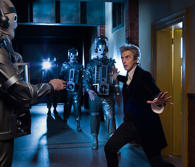 Doctor Who Series 10, Peter Capaldi publicity still photography