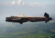 Lancaster AJ-G carrying Upkeep
