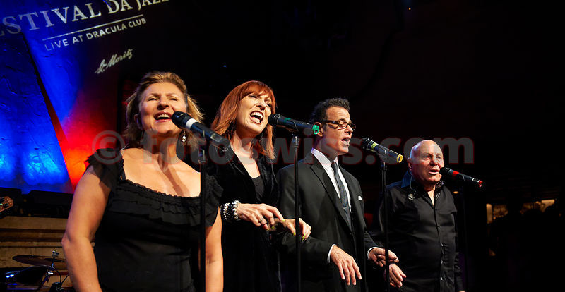 Festival da Jazz 2011 The Manhattan Transfer live at Dracula Club