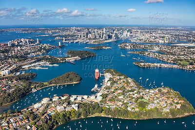 Greenwich and Sydney Harbour