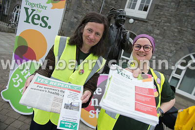 NO REPRO FEES - 14th May, 2018. Pictured at Market House, Mullingar were volunteers and supporters former town mayor Ruth Ull...