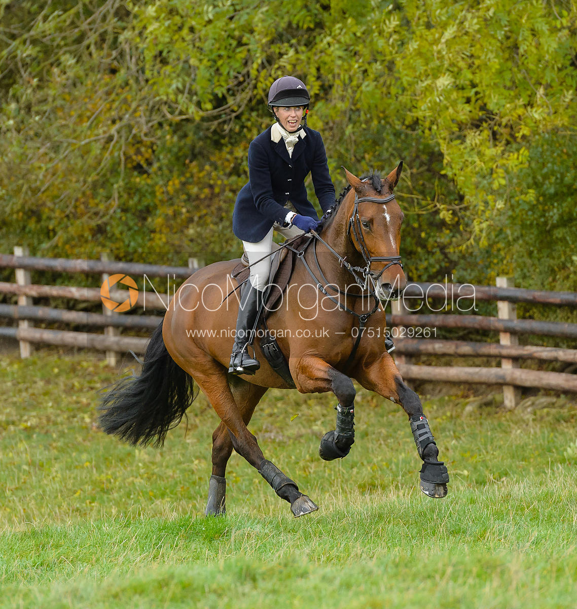 Katie Barber - Quorn Hunt Opening Meet 20/3