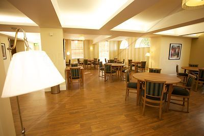 Modern Dining Room in Day Centre for Elderly People