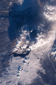 RUSSIA Tolbachik Volcano -- 01 Dec 2012 -- In late November 2012, Tolbachik Volcano on Russia's Kamchatka Peninsula